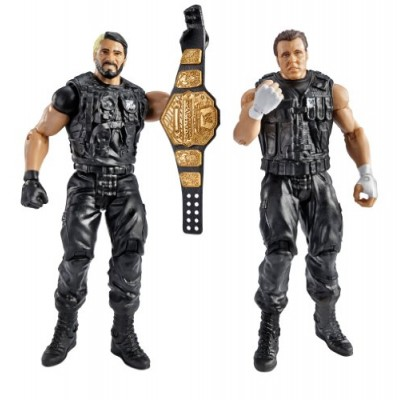 WWE Battle Pack Seth Rollins vs. Dean Ambrose Action Figure, 2-Pack