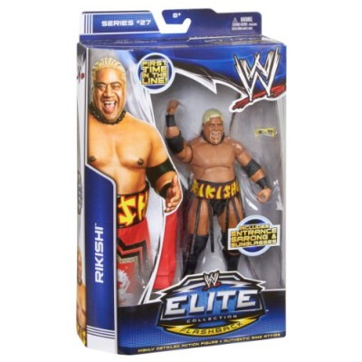 WWE Elite Collection Series #27 Rikishi Action Figure