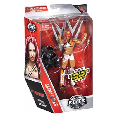 WWE Elite Sasha Banks Figure