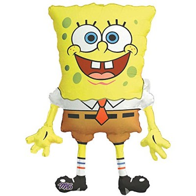 "Spongebob Squarepants Super Shape Pkg. Foil Balloon (1 per package) 22"" X 28"""
