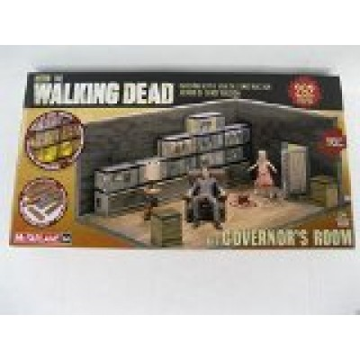 McFarlane Toys Building Sets -The Walking Dead TV The Governor's Room Building Set