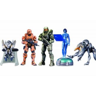 McFarlane Toys Halo 4: 5-Pack w/Exclusive Orange Spartan Soldier