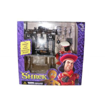 SHREK: DULOC DUNGEON with SOUND by McFARLANE TOYS