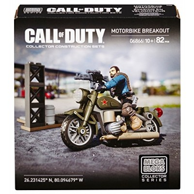 Mega Bloks Call Of Duty Motorbike Breakout