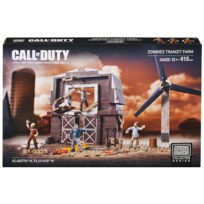 Mega Bloks Call of Duty Zombies Tranzit