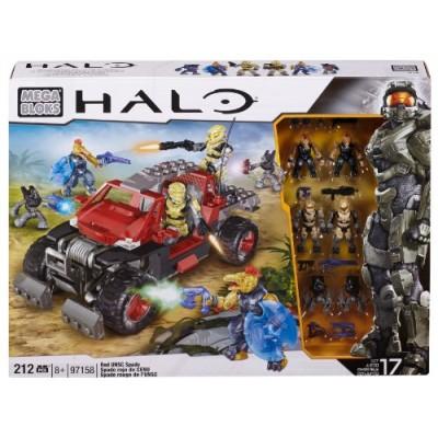 Mega Bloks Halo Red UNSC Spade