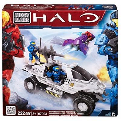 Mega Bloks Halo Snowbound UNSC Rockethog