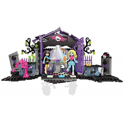 Mega Bloks Monster High Graveyard Garden Party Building Set