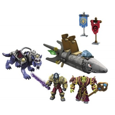 Mega Bloks World of Warcraft Barren Lands Chase