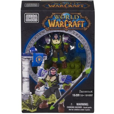 Mega Bloks World of Warcraft Ironoak (Alliance Night Elf Hunter)