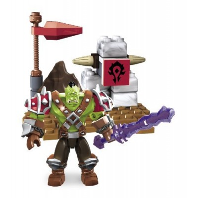Mega Bloks World of Warcraft Ragerock (Horde Orc Warrior)