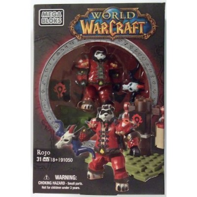World of Warcraft Mega Bloks Horde Faction Pack Rojo