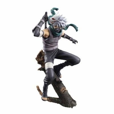 "Megahouse Naruto Shippuden: Kakashi Hatake G.E.M. PVC Figure (""Dark Side"" Version)"
