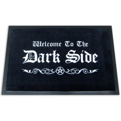 "Welcome To The Dark Side - Doormat / Floor Mat (Size: 24"" x 16"")"