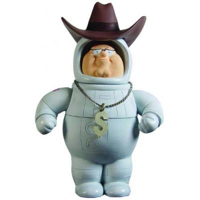 Mezco Toyz Family Guy 6 Inch Classic Action Figure Series 2 Secret Agent Astronaut Millionaire Peter