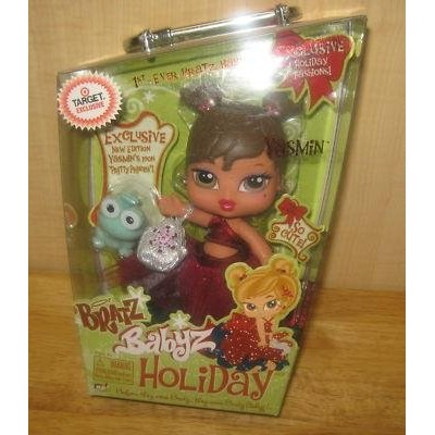 Bratz Holiday Christmas Yasmin Doll 1st Edition Exclusive