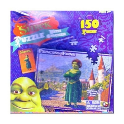 Princess Fiona Puzzle (From the Movie Shrek)