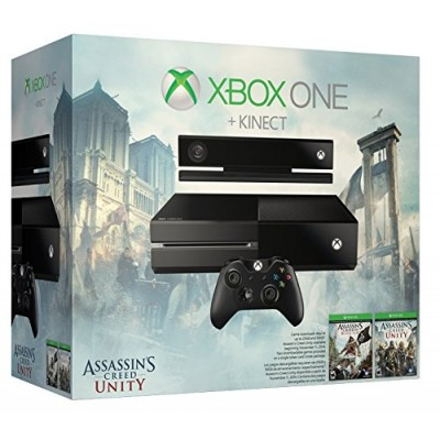 Xbox One with Kinect: Assassin's Creed Unity Bundle, 500GB Hard Drive