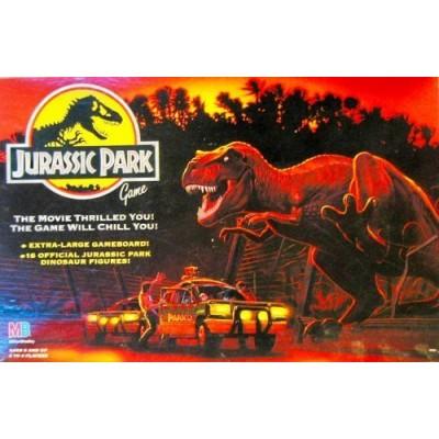 Jurassic Park Game by Milton Bradley