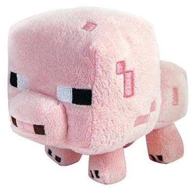 "Minecraft Baby Pig 7"" Plush"