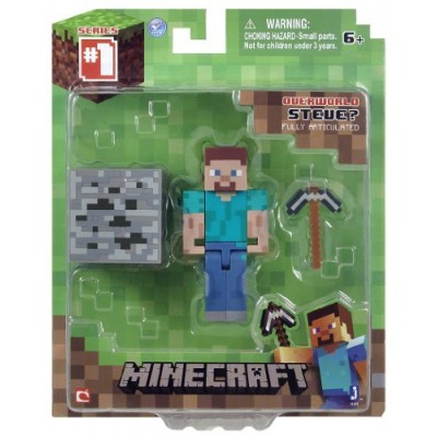Minecraft Core Steve Action Figure with Accessory