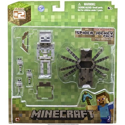 Minecraft MINECRAFT- Spider Jockey Pack Action Figure
