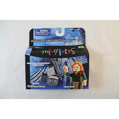 Marvel MiniMates Series 18 Spider-Man 3 Unmasked Black-Suited Spider-Man and Mary Jane (Includes Variant Mary Jane)