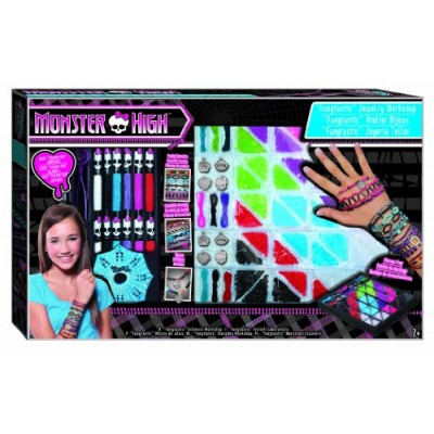 Fashion Angels Monster High Fangtastic Jewelry Workshop Bead Kit
