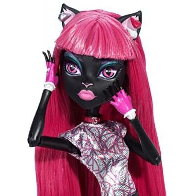 Monster High BJM43 Scaremester Catty Noir Doll