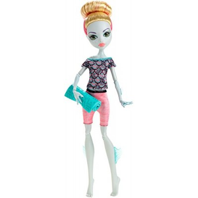 Monster High Fangtastic Fitness Lagoona Blue Doll