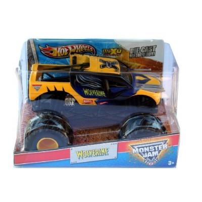 Wolverine 2013 Hot Wheels Monster Jam Marvel 1:24 Scale