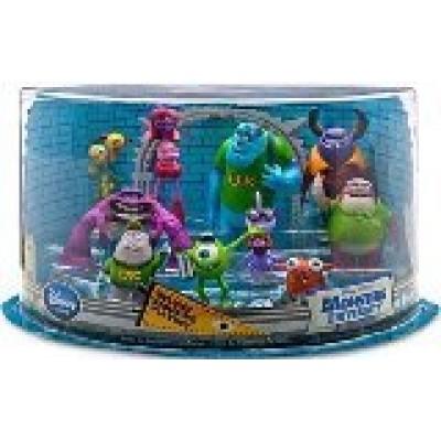 Disney / Pixar Monsters University Exclusive 10 Piece Deluxe PVC Figurine Playset