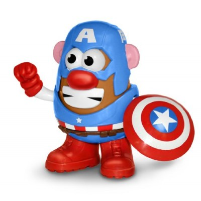 Mr. Potato Head Captain America Figure