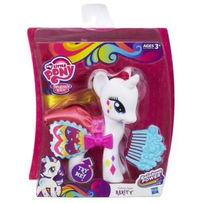 My Little Pony Fashion Style Rarity Pony Figure