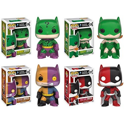 Funko POP! Heroes - DC Comics Impopsters - SET OF 4 Summer Releases