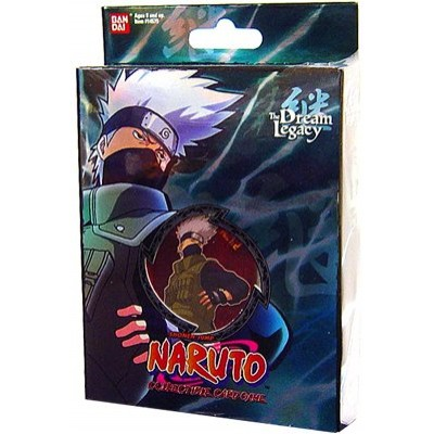 Naruto Collectible Trading Card Game The Dream Legacy Theme Deck Starter - Kakashi (Set B-1)