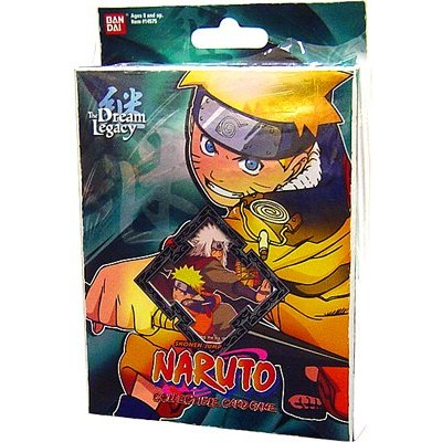 Naruto Collectible Trading Card Game The Dream Legacy Theme Deck Starter - Naruto (Set A-2)