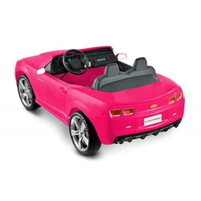 National Products 12 Chevrolet Camaro Ride-on - Pink