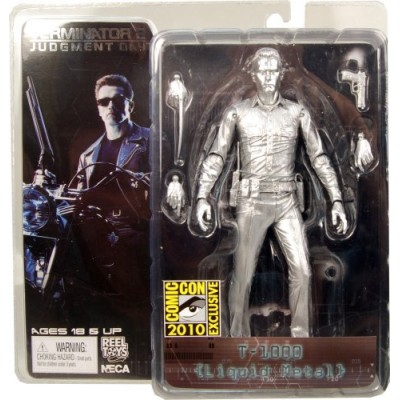 "Cult Classic - Terminator 2 Series 3 T-1000 Liquid Metal 7"" Action figure SDCC Exclusive"