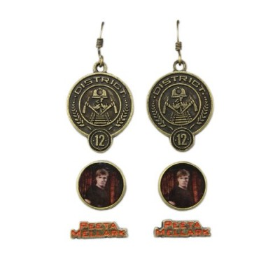 Hunger Games Peeta Mellark Earrings 3 Pack