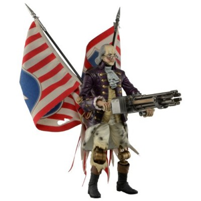"NECA Bioshock Infinite - Benjamin Franklin 9"" Action Figure"