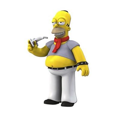 "NECA Simpsons 25th Anniversary 5"" Series 5 Homer Simpson (Dressed Like Kravitz) Action Figure"