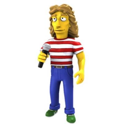 "NECA Simpsons 25th Anniversary - Roger Daltrey 5"" Action Figure Series 2"