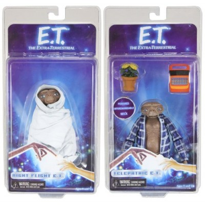 Neca Steven Spielbergs E.T. the Extra-Terrestial Action Figures Series 2 Set of 2