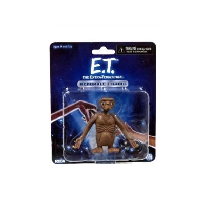 Neca Steven Spielbergs E.T. the Extra-Terrestial Bendable E.T. Figure
