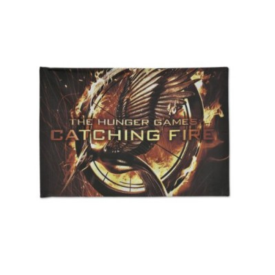 "NECA The Hunger Games: Catching Fire ""Mockingjay Pin"" Pillow Case"