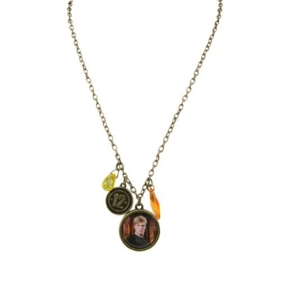 "The Hunger Games Movie Necklace Single Chain ""Peeta District 12"""