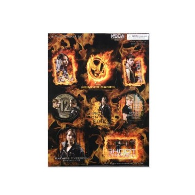 The Hunger Games Movie Sticker 8 pc. Sticker Set