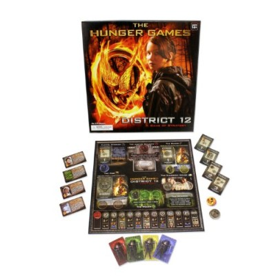The Hunger Games Movie The District 12 Strategy Game