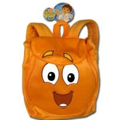 Go Diego Go Backpack Plush Rescue Pack